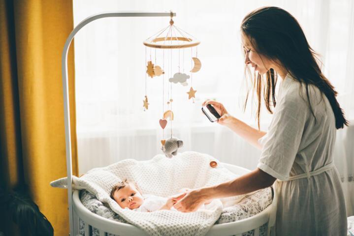 Bebek odası için en güzel beşik modellerini bir araya getirdik