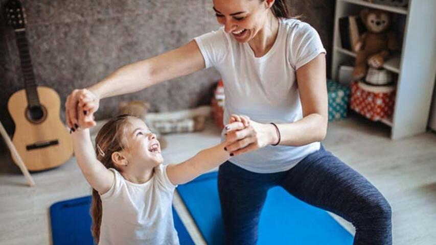 Pandemide çocuklar için evde egzersiz ortamı hazırlanmalı
