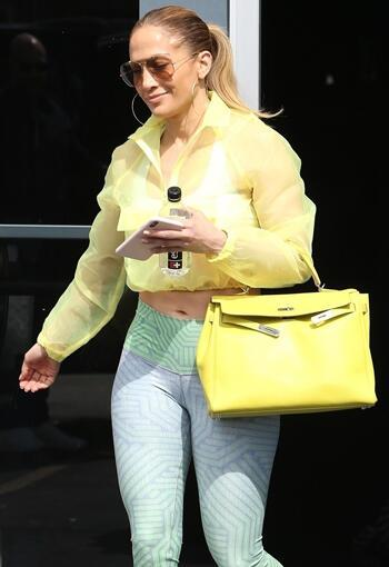 Jennifer Lopez'in Spor Stili