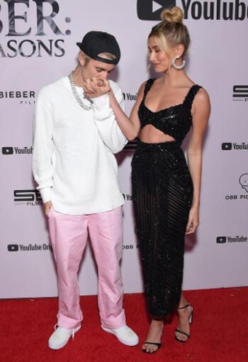 Justin-Hailey Bieber: Seasons Galası Stili