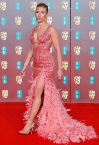 Scarlett Johansson BAFTA Stili