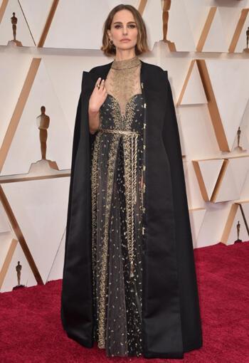 2020 Oscar Ödülleri Natalie Portman Stili