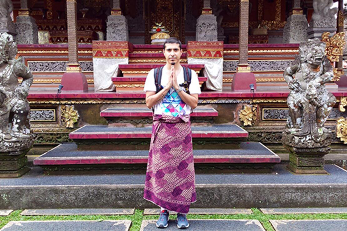 Bali'de mutluluk insanların yüzünden okunuyor