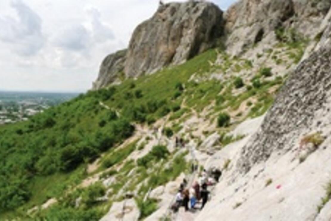 Hazreti Süleyman'ın dağında
