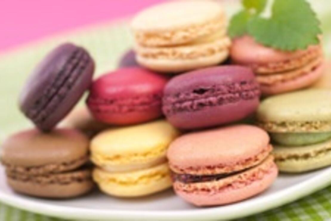 Paris tadında rengarenk tatlar