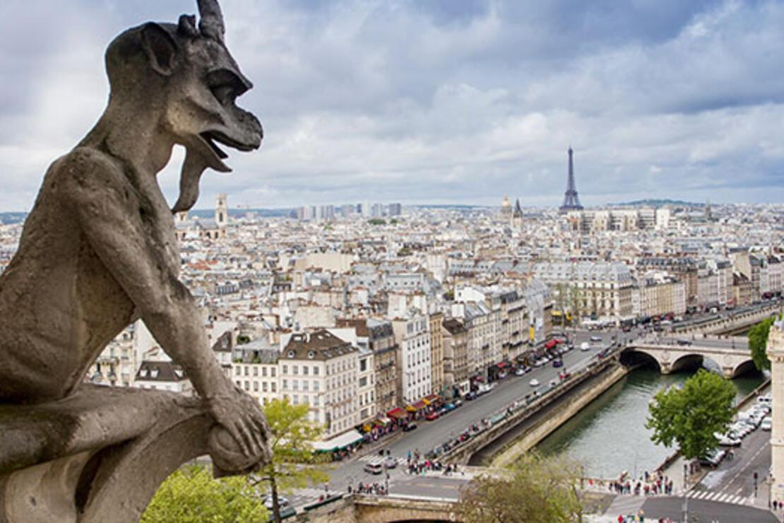 36 saatte 'öteki' Paris