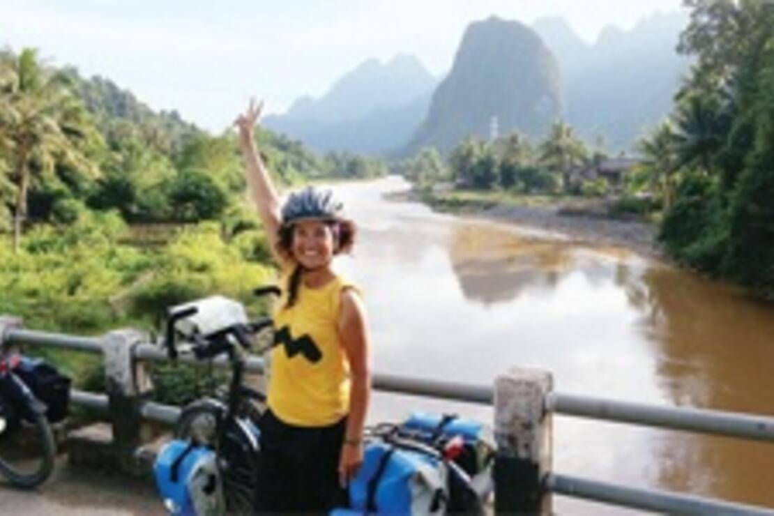Romantik Luang Prabang'dan çıktık bisikletle 1600 metreye tırmandık