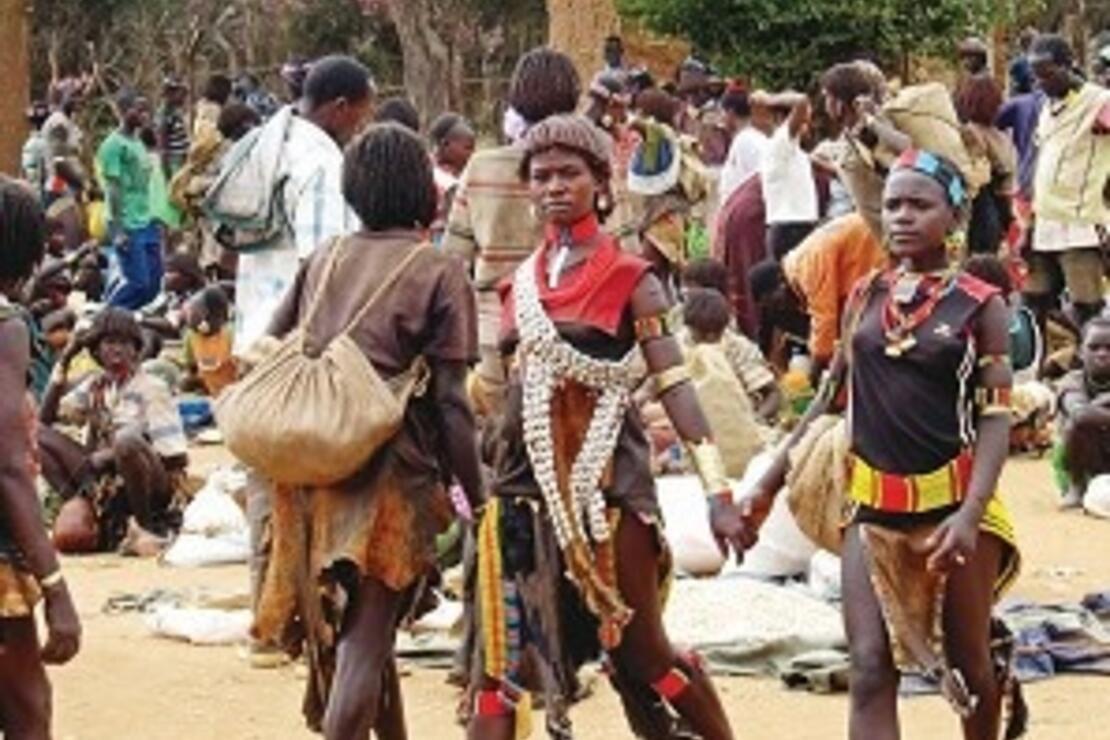 Omo Vadisi'nin rengarenk kabileleri