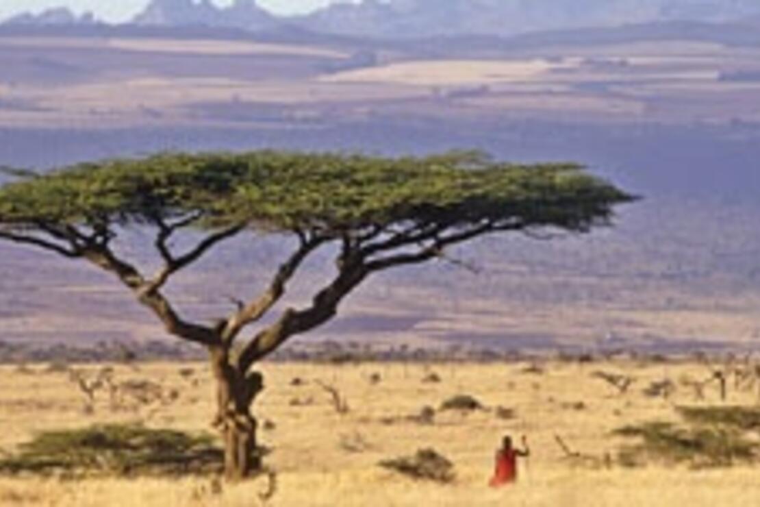 Kenya'ya Afrika'nın çatısından baktım