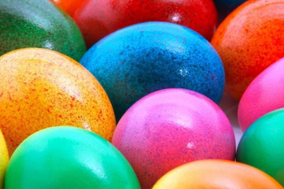 Renkli yumurtaların sırrı