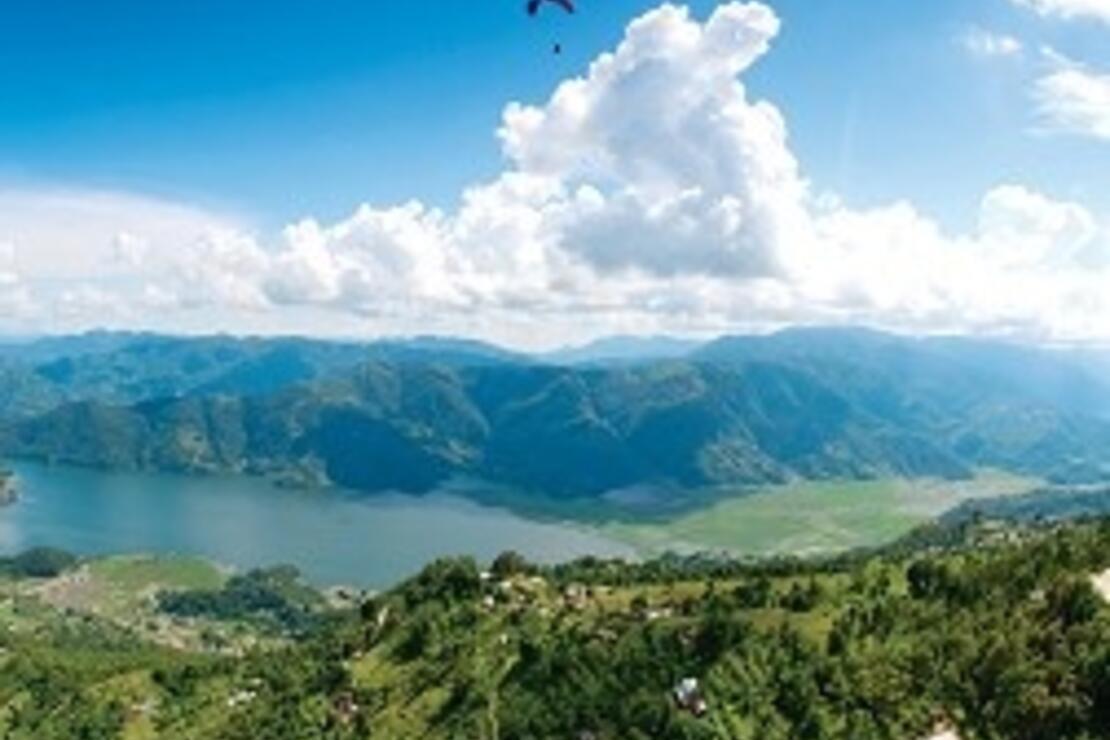 Himalaya eteklerindeki kartal yuvası