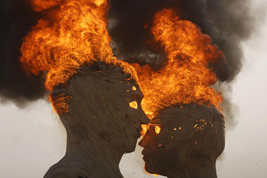 Burası Burning Man, burada her şey gerçek