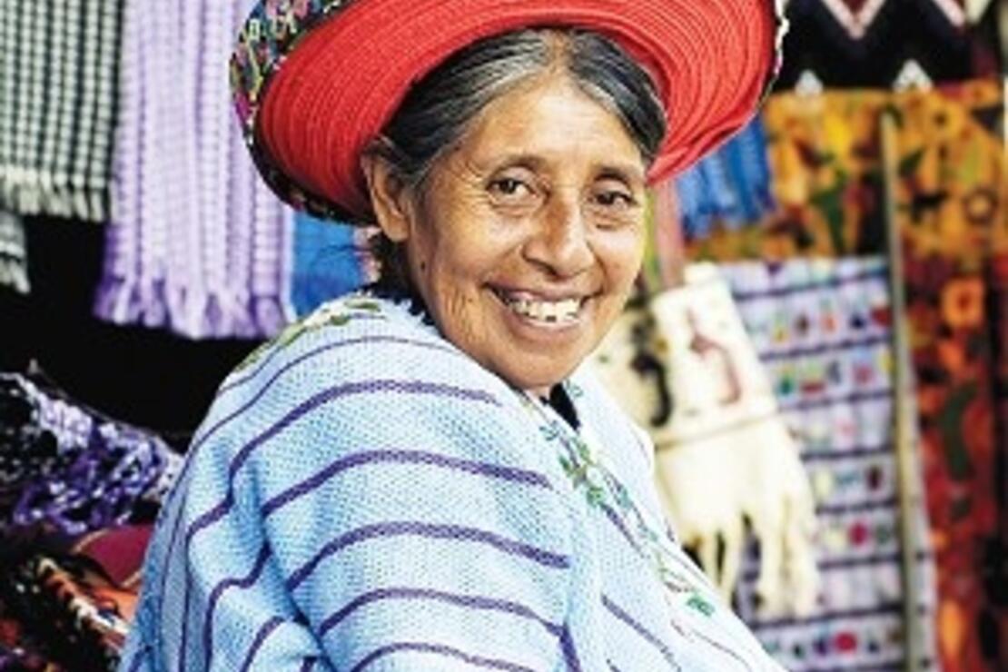 Gökkuşağını kıskandıran Guatemala