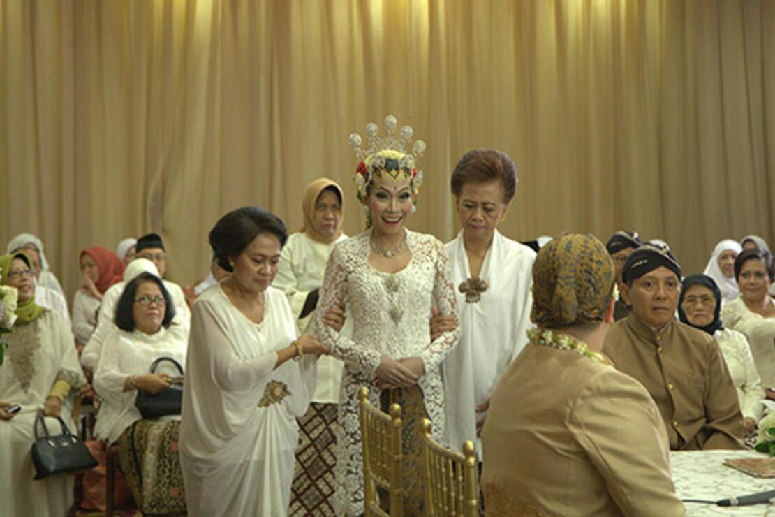 Başka olur Cakarta düğünü