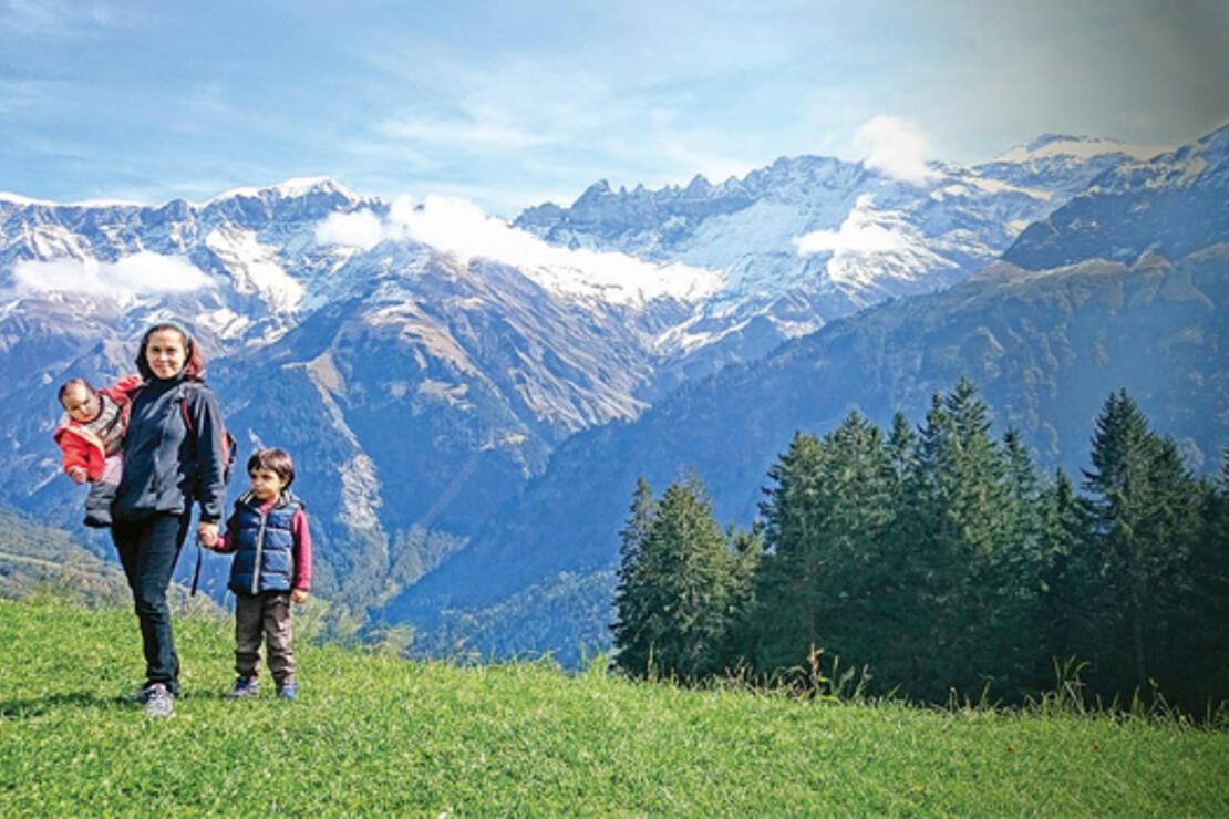 Çocukla 3 kıta, 7 ülke ve 56 bin km yol