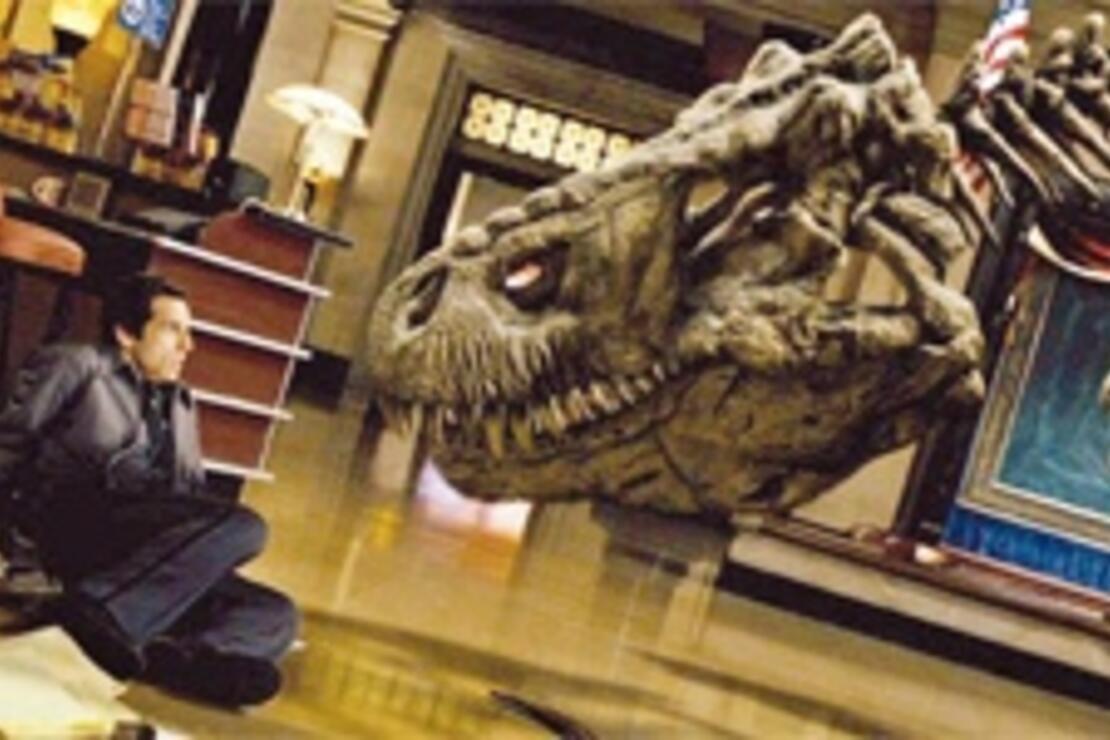 Dinozorlarla birlikte 'Müzede Bir Gece'