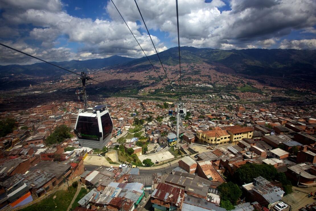 Pablo Escobar'ın sakin ve huzurlu şehri: Medellin