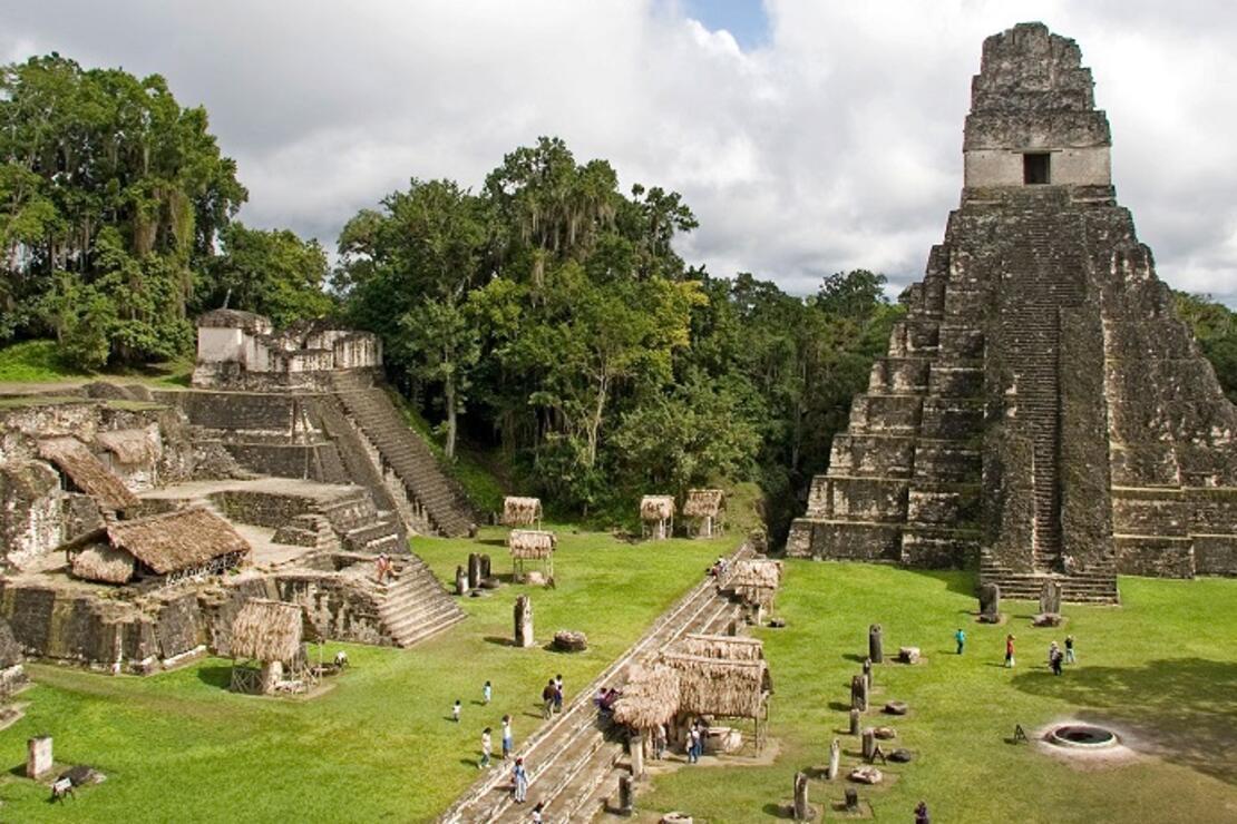 Maya uygarlığı izin Güney Amerika