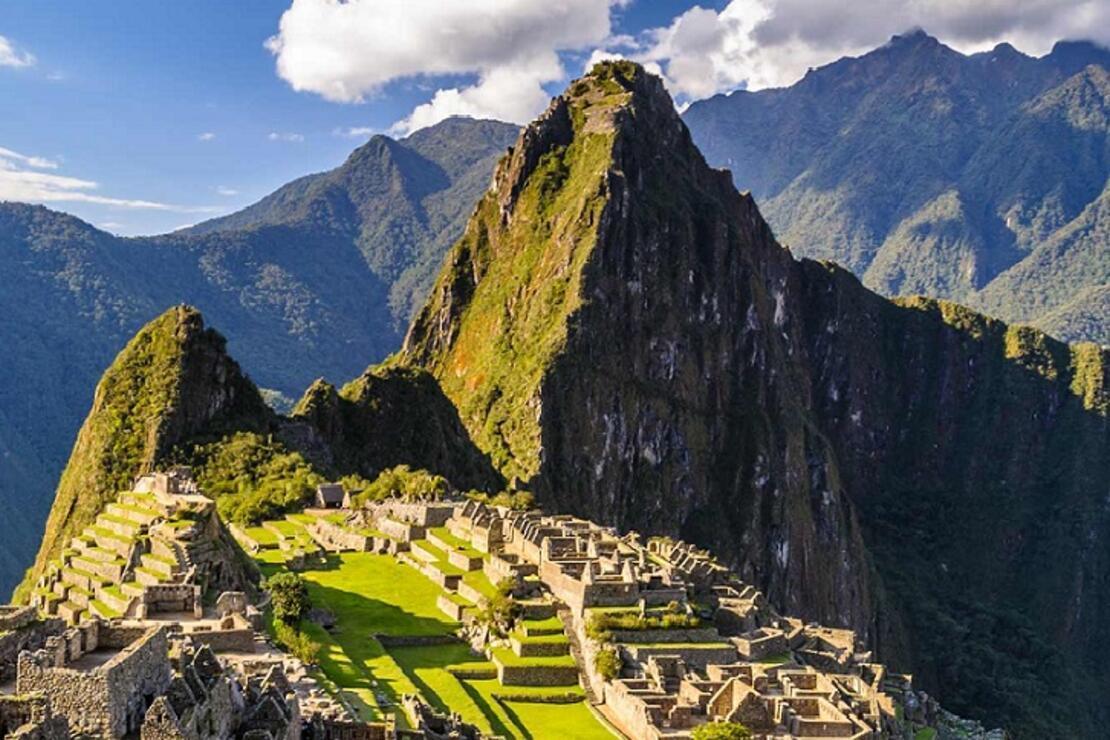 Peru'nun renkli dağları ve donmuş atlar zamanı