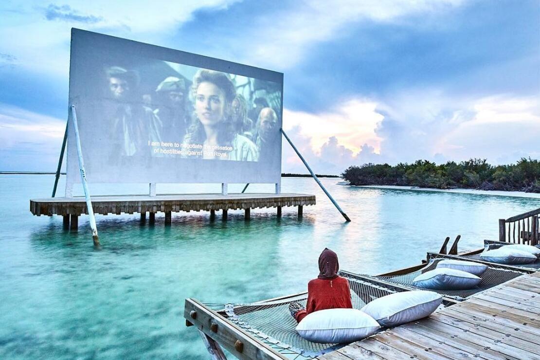 Maldivler'in yüzen sineması: Cinema Paradiso