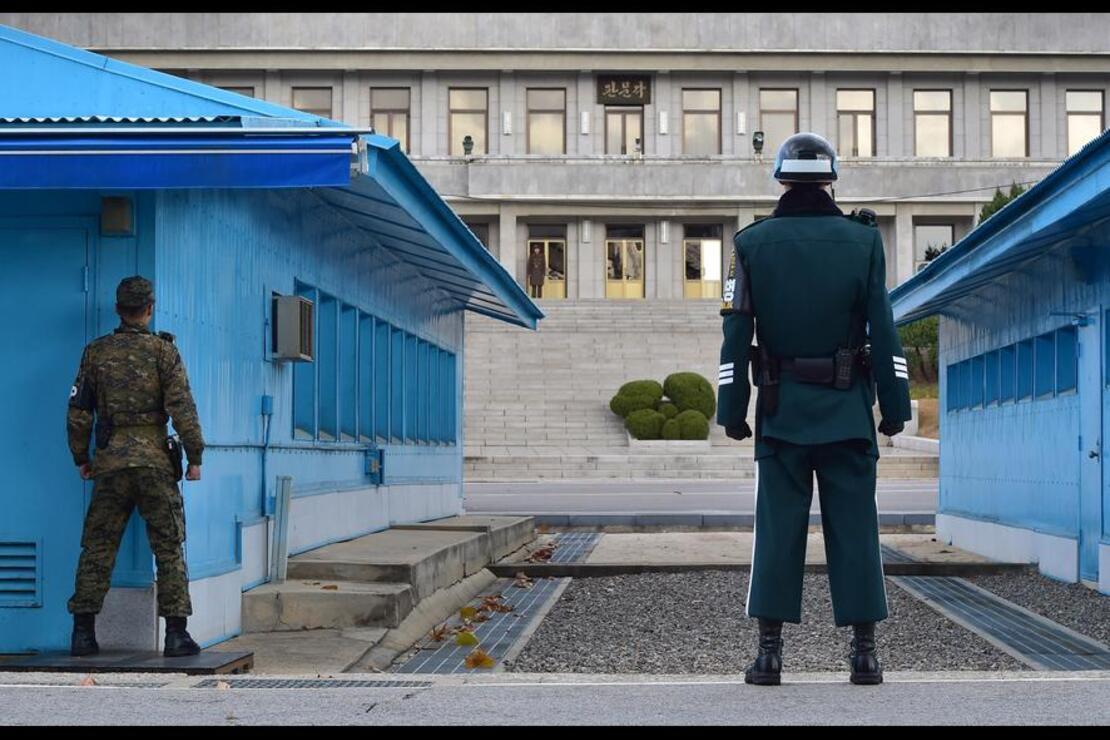 Güney ve Kuzey Kore arasında kalan ilginç köy