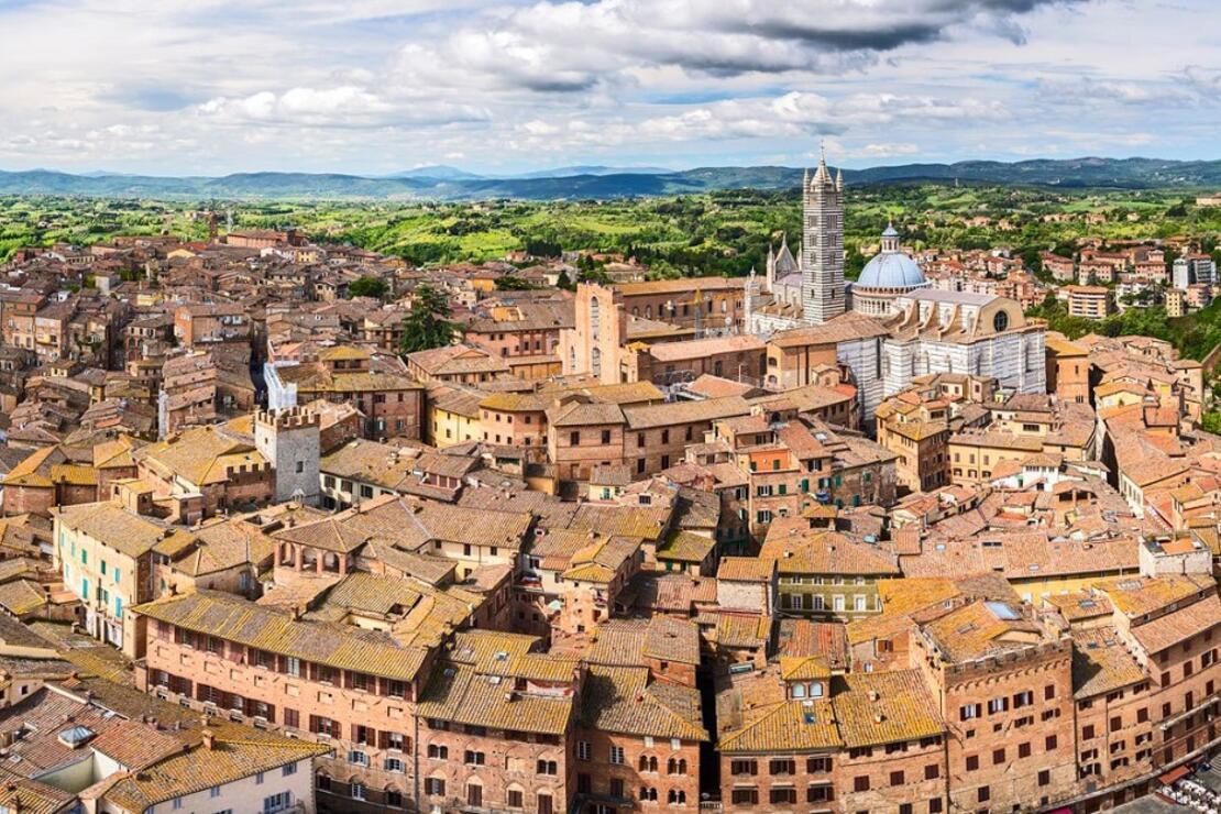 İtalya'da ortaçağ şehri: Siena