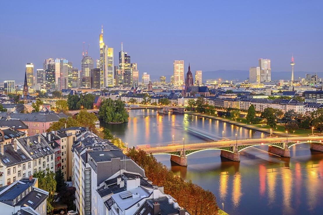 Nehrin ikiye böldüğü güzel şehir: Frankfurt