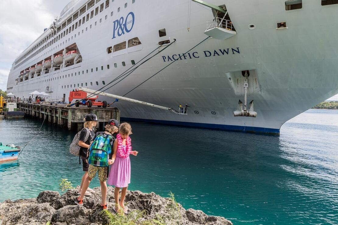 İki çocukla 'cruise' olur mu?