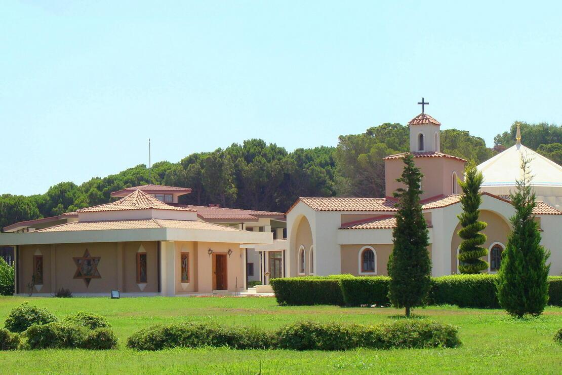 Üç din bir bahçede: Dinler Bahçesi