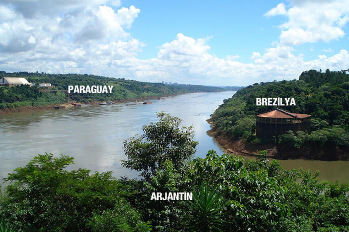 Üç ülkeyi birbirinden ayıran nehir: Parana