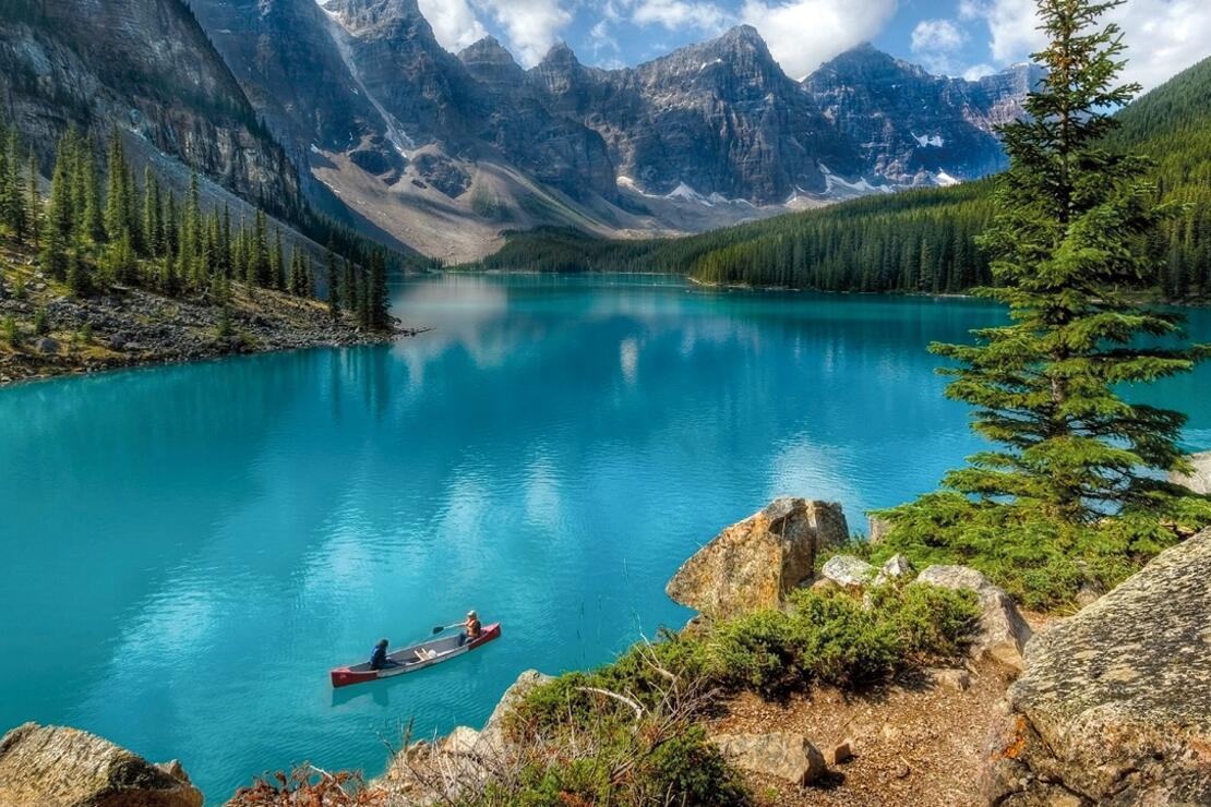 Her mevsim turistlerin uğrak noktası: Kanada