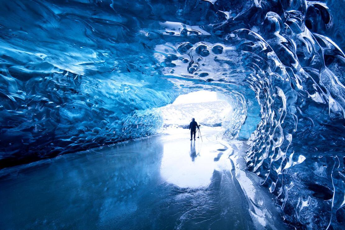 Ürpertici güzellikteki 7 buz mağarası