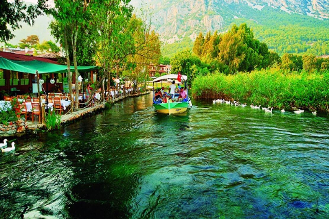 Muğla'da doğal bir akvaryum: Kadın Azmağı Deresi