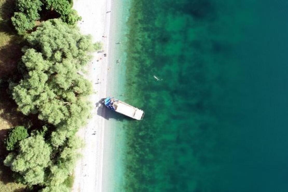 Van Gölü'nün saklı koyları