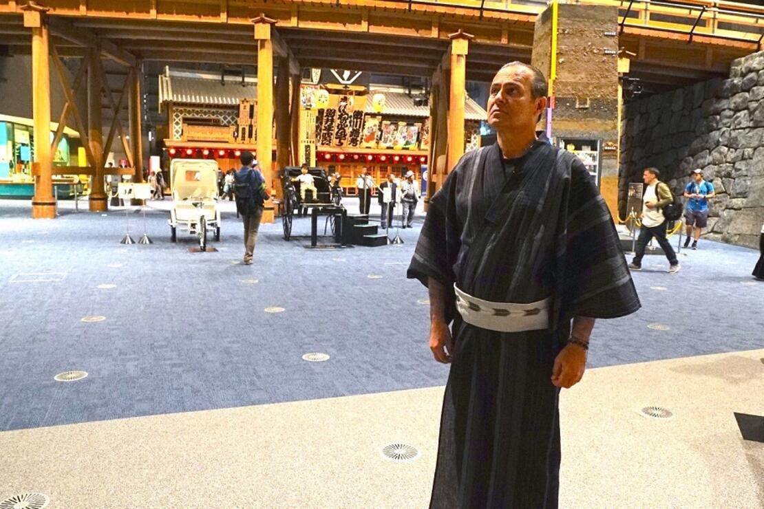 En iyi suşiyi ben yaptım,  sumo güreşçilerine yakından baktım