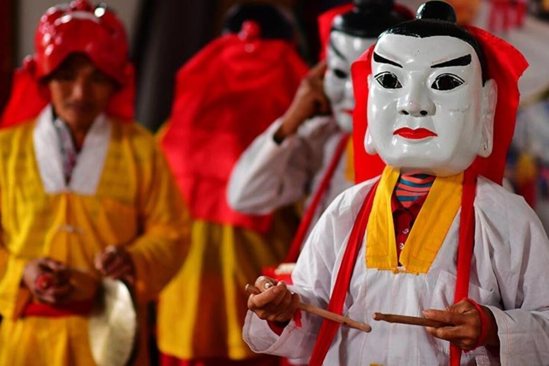 Shaowu Nuo dansının 1000 yıllık geçmişi