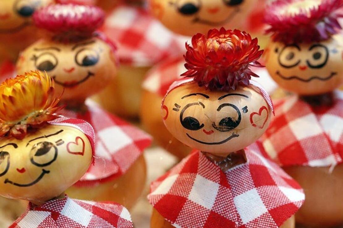 İsviçre'nin 57 tonluk Soğan Festivali