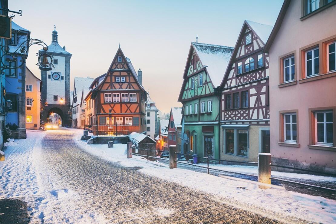 Kartpostal resimlerini aratmayan şehirler ve Noel pazarları