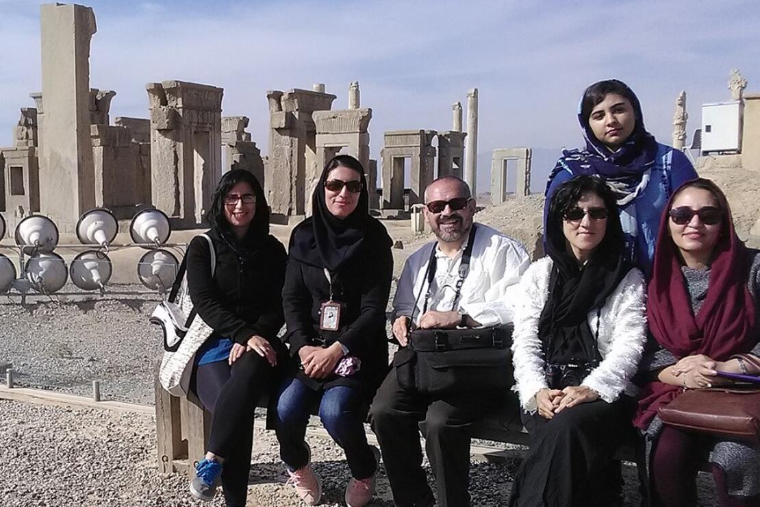 Tahran'dan Şiraz'a uzanan yolculuk