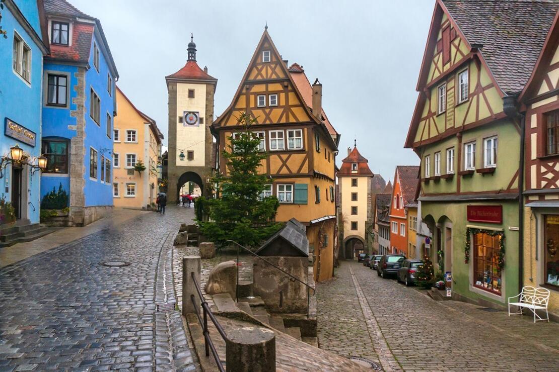 Almanya'nın masalsı rotası: Rothenburg ob der Tauber