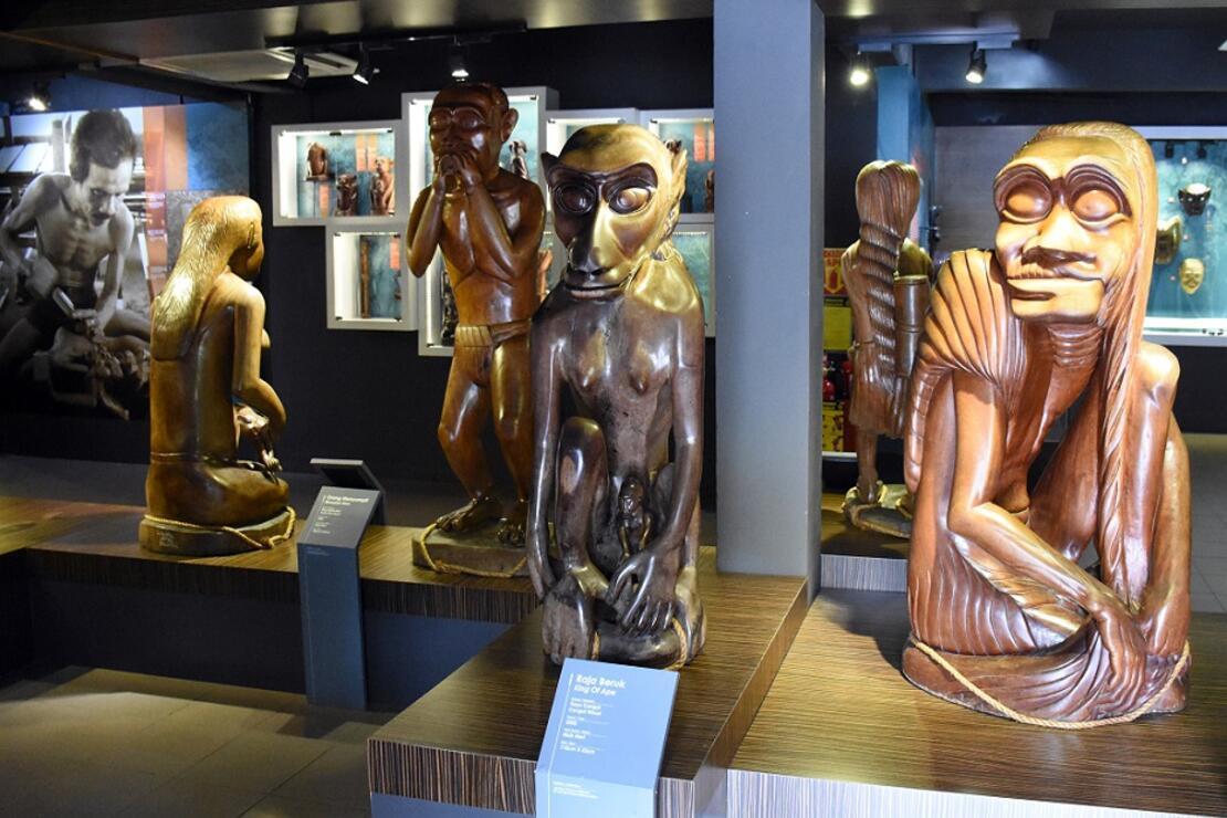 Malezya'nın yerel toplulukları başkentteki müzede tanıtılıyor