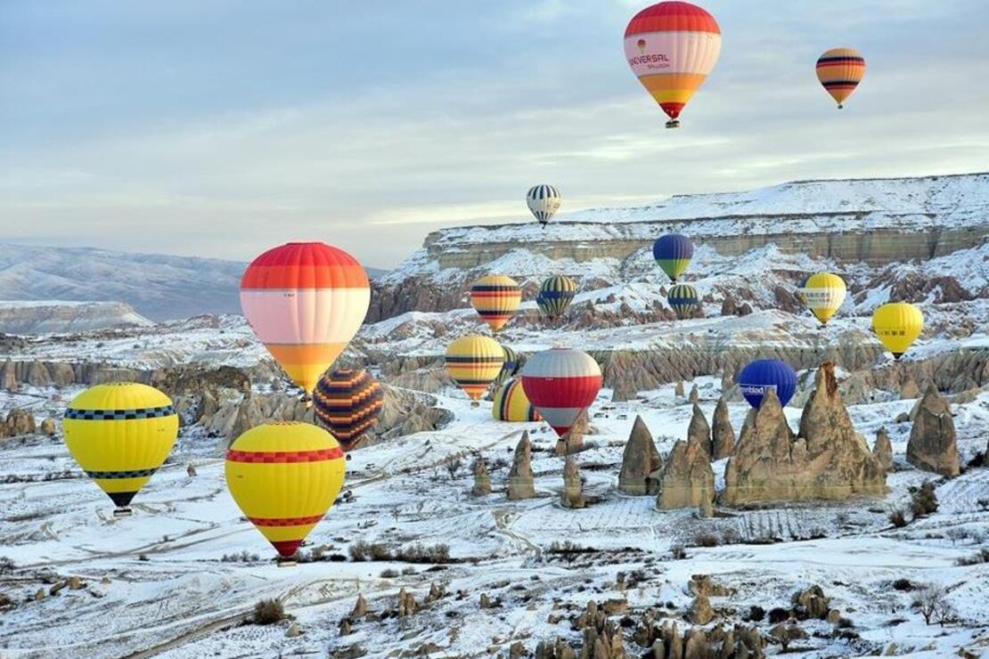 Karda yürümek için en güzel 10 rota