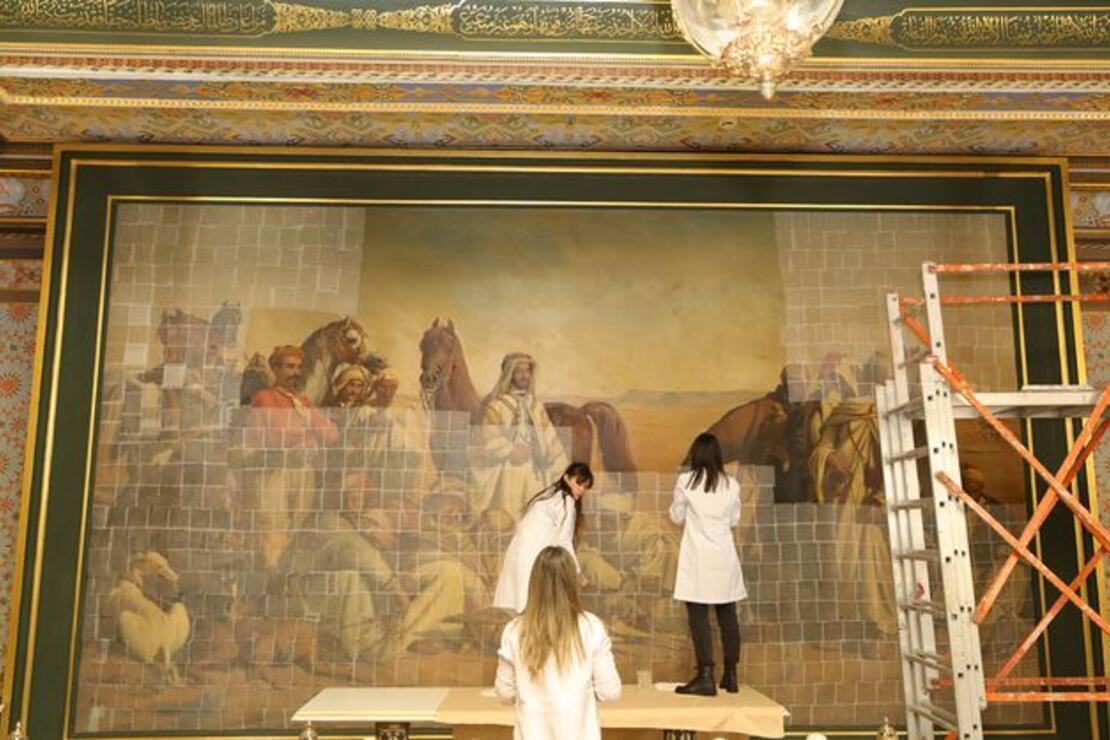 'Çölde Av' tablosu 'Resim Müzesi'ne taşınacak