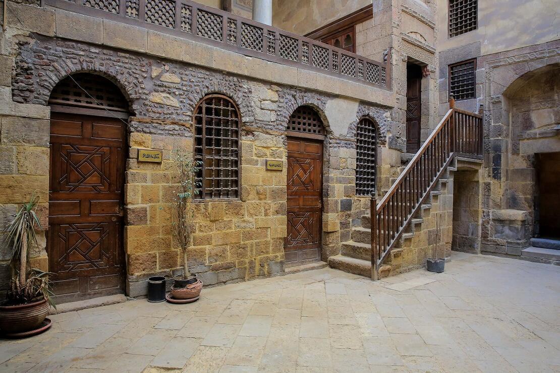 Kahire'de zamana direnen 355 yıllık Türk evi