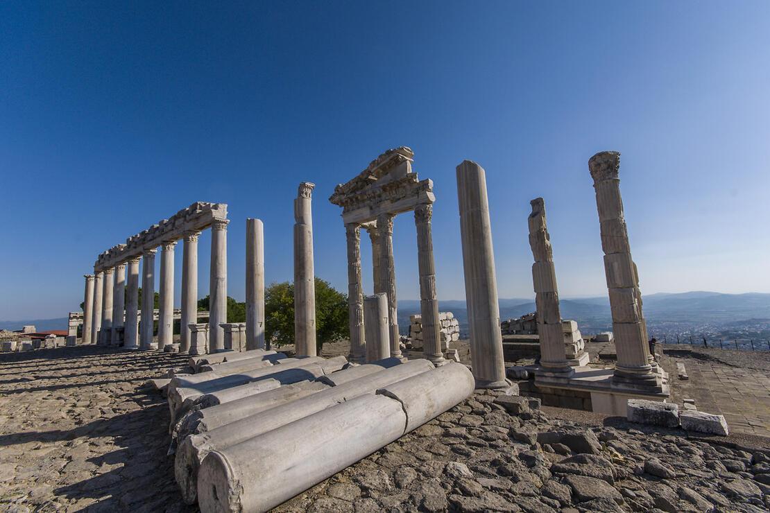 İzmir'de Pergamon Antik Kenti