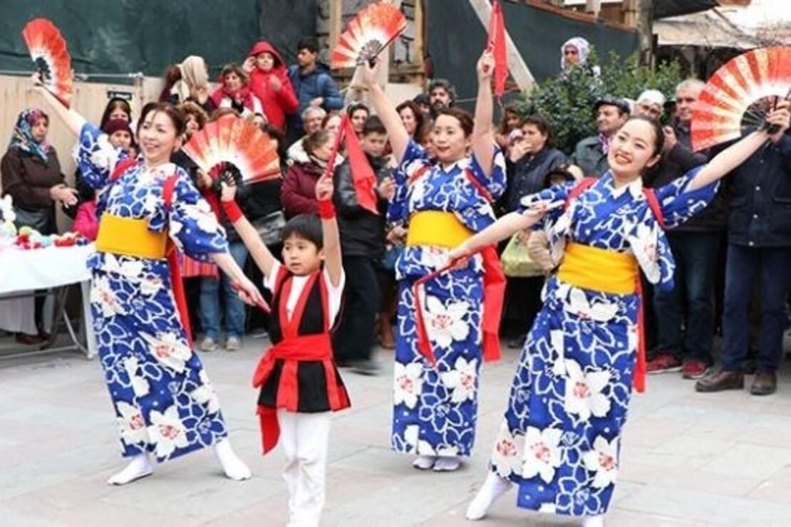 Japon geleneklerinin tanıtıldığı Galenos Papatya Festivali