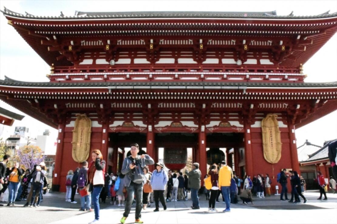 Tokyo'nun en eski tapınağı: Sensoji