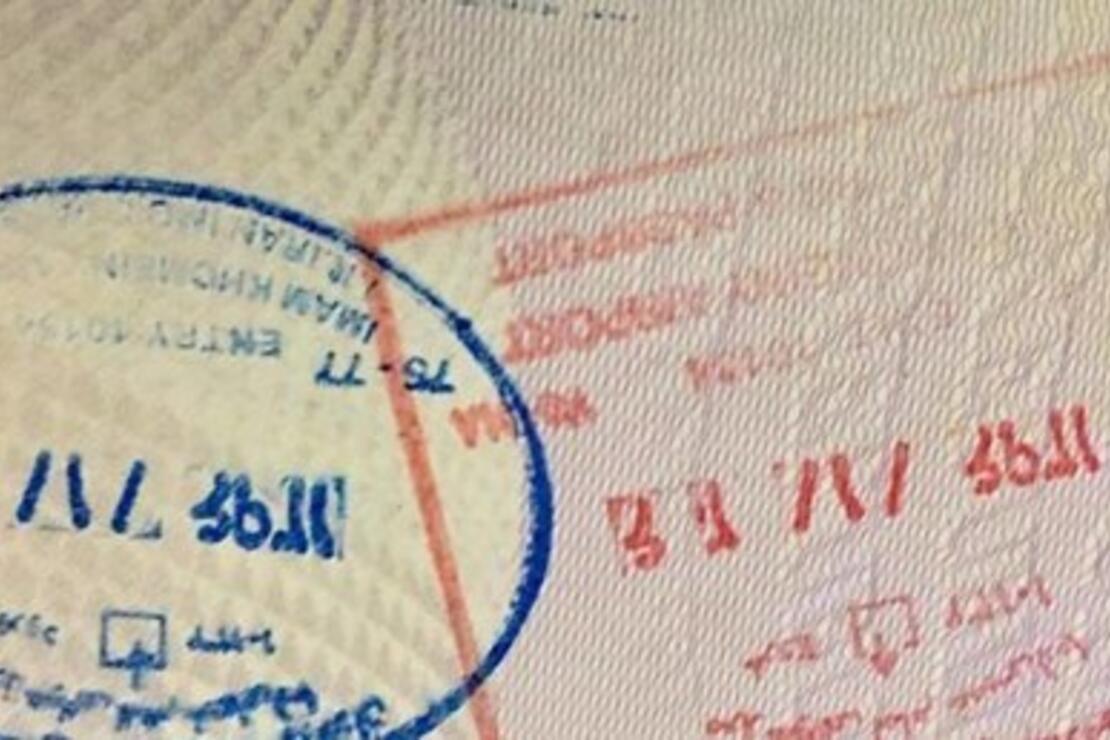 İran artık turist pasaportlarına mühür vurmayacak