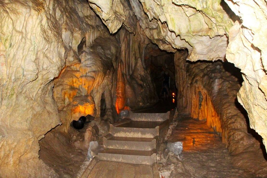 Türkiye'nin turizme açılan ilk mağarası: İnsuyu Mağarası