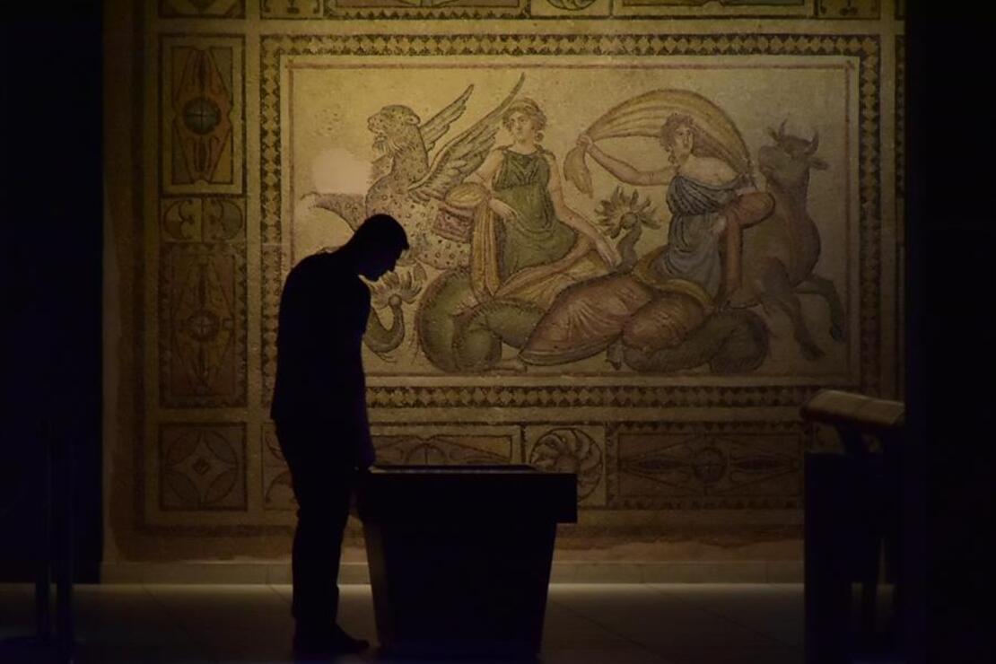 Zeugma Mozaik Müzesi'ne ziyaretçi ilgisi